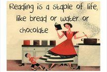 Reading  / by April Bateman
