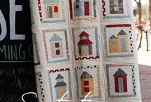 Neighborhood quilt / by Anjeanette