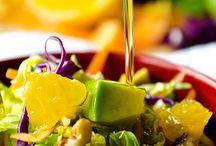 Salads / by Crystal Faircloth Thomas