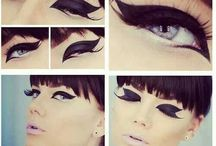 Makeup - Cat Tails and Wings / Lovely little eye details suitable for that special look / by Provocateur Images