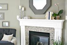 Fireplaces / by Elisabeth Crowe