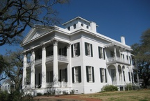 Antebellum Homes, Churches & Plantations of the Old South / beautiful architecture of the old south / by Morgan Adams
