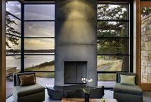 fireplace N / by Christine Rental