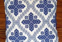 Vagonite - punto yugoslavo and swedish / Hand made / by Macan Rosabal