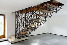 Lépcső inspirációk / Lakberendezési ötletek lépcsőkhöz / by Csorba Anita