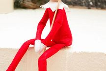 Elf on the shelf / by Tovah Graham