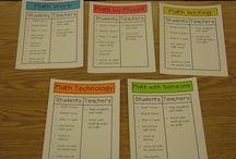 Organisation / by Math Primaire