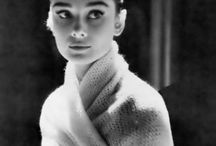 """For beautiful eyes, look for the good in others; for beautiful lips, speak only words of kindness; and for poise, walk with the knowledge that you are never alone.""  / Quote by Audrey Hepburn / by Maria Annette"