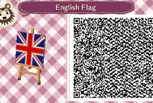 Animal Crossing / QR codes for the awesomeness that is Animal Crossing New Leaf! / by Amy Grandon