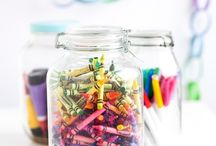 Kids Craft Organization / by Nicki Woo - The Home Guru / Nicole T. Woodard
