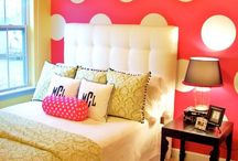 {girly.bedroom} / by Clarissa Stagg