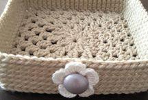crochet baskets / by Valerie Bowen