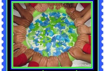 """Care of the Earth (Song) / """"Let's take care of the earth. Let's take care of the earth. We only have one and she's a lotta fun.... so let's take care, take care of the earth.""""  / by Debbie Clement"""