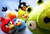 Angry Birds / When the game was being designed, the birds needed an enemy. As the swine flu epidemic broke, it was obvious who was going to 'get it'. #UselessFact / by Jeremy Waite