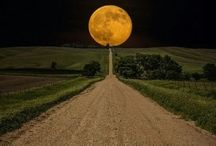 Moon / Different moon pics / by Monica Reed