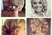 My wedding hair makeup / by Jessica Doneza