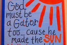 Gator Chomp Chomp / Florida Gator / by Misty Perkins