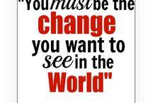 Words to Live By Wednesdays @ teachingrocks.ca / by TeachingRocks!