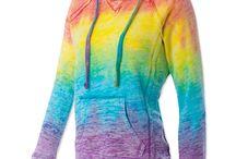 Rainbow shtuff:p / by Rissa Young