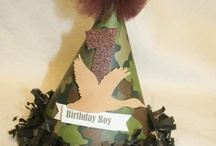 Camo Party Ideas / by Mindy McDonald