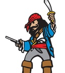 Pirate Entertainer Hire / Big Time Entertainment have some Pirate Entertainers available.  CALL US ON 020 7127 9119 / by Big Time Entertainment Limited UK