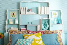 bedrooms with color / by Genie Norris of ColorGenie