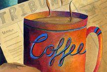 One of life's perks... { COFFEE } / Coffee ☕ / by Vicki ❥