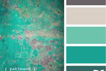 Color schemes for the new home / by Corinne Miller