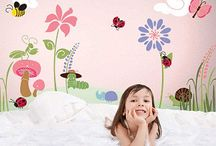 Kids Stencils & Murals / Stencils to decorate children's rooms / by Wall to Wall Stencils