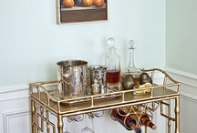 The Bar Cart is Back! {The Sedgewick Bar Cart} / by RoxyTeOwens // SocietySocial