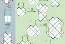 Crochet - squares. Motiffs ΜΟΤΙΒΟ / by Κάλλια Ανδρουλάκη