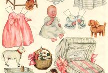 Paper Dolls / Always loved paper dolls / by Shelia Williamson