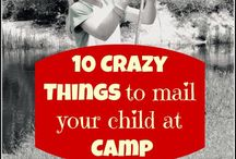 Camp Ideas / Summer Camp Letter/ package ideas / by Disney Diva