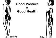 Good Posture = Good Health / by VANITÉE
