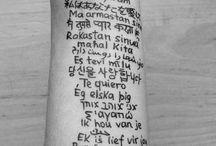 Tattoos / by Stephanie Rae
