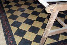 floor cloths / by Barbara Schwartz
