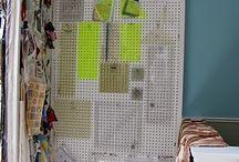 Sewing Room Ideas / by Virginia Worden