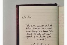 quotes / by Haley Walker