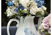 Blue and white / by Blush Floral-Design