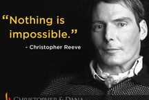 Christopher Reeve Quotes / by Reeve Foundation