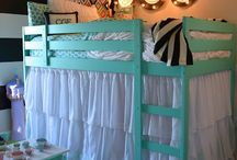 Girls rooms / by Christie Chrystal