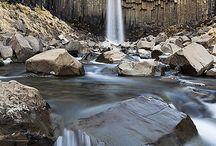 Island er satt heimili mitt / Iceland, the naked land. / by Hallie Warren