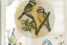 cross stitch birds / by Wilma Fels