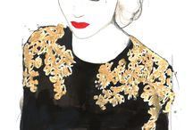 Fashions - Sketches / by mary ennis
