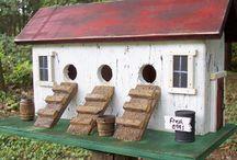 Bird Houses / by Kirsten Herranes
