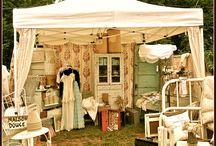 City Farmhouse Pop Up Sale Tent Ideas / by Blue  Creek Home Rhonda
