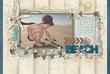 beach scrapbooking / by Karen Green
