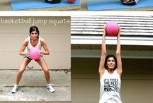 Medicine ball workouts / by Tara Cox Borden