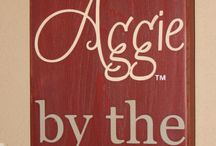 Aggies! / by Tiffani O'Bryant