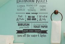 Bathrooms / by Roxanne Jones